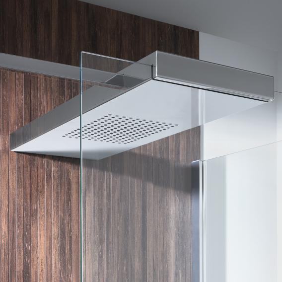 Hoesch CIELA for two shower panels with overhead showers for recess