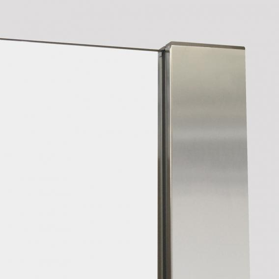 Hoesch ONE&ONE shower panel, back-to-wall