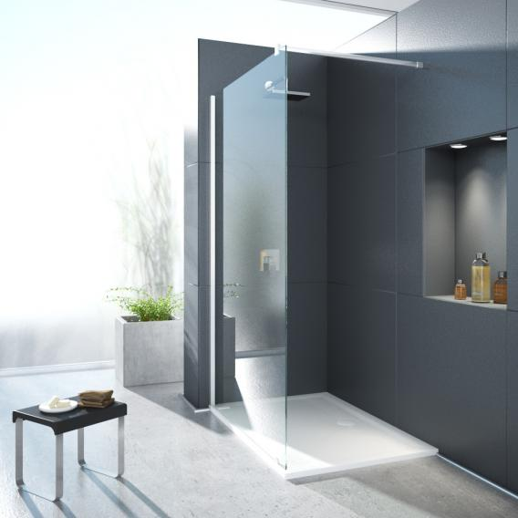 Hoesch ONE&ONE shower panel, corner version for side entry