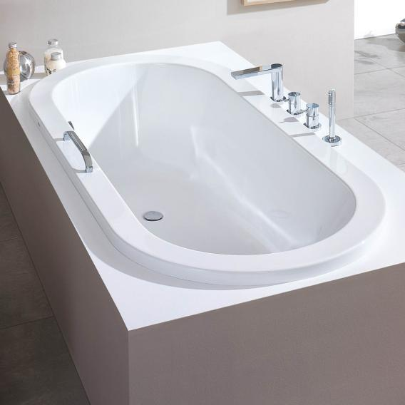 Hoesch SCELTA oval bath, overflow left white