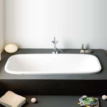 Hoesch SINGLEBATH Uno oval bath white