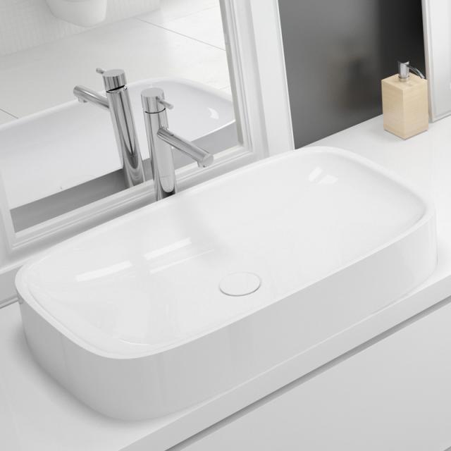 Hoesch LASENIA countertop washbasin white