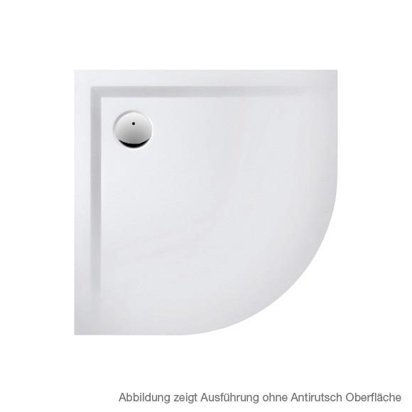 Hoesch MUNA quadrant shower tray white, with SoliquePRO anti-slip