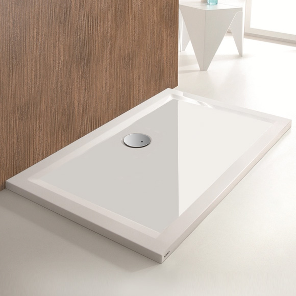 Hoesch MUNA rectangular/square shower tray white