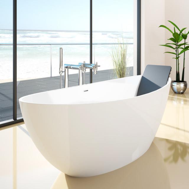 Hoesch NAMUR freestanding oval bath white