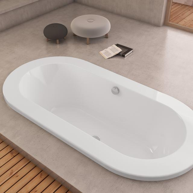 Hoesch PHILIPPE STARCK Edition 1 oval bath white