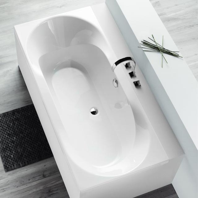 Hoesch SPECTRA rectangular bath, built-in white