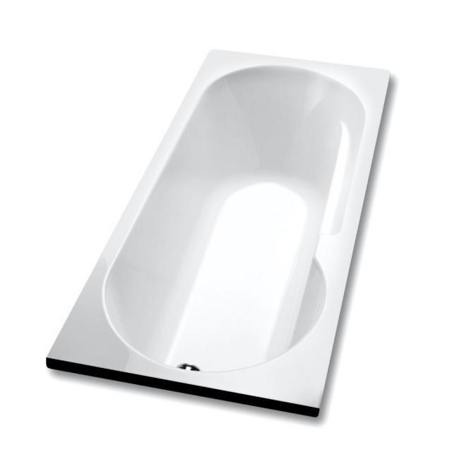 Hoesch TOPEKA rectangular bath with shower zone, built-in
