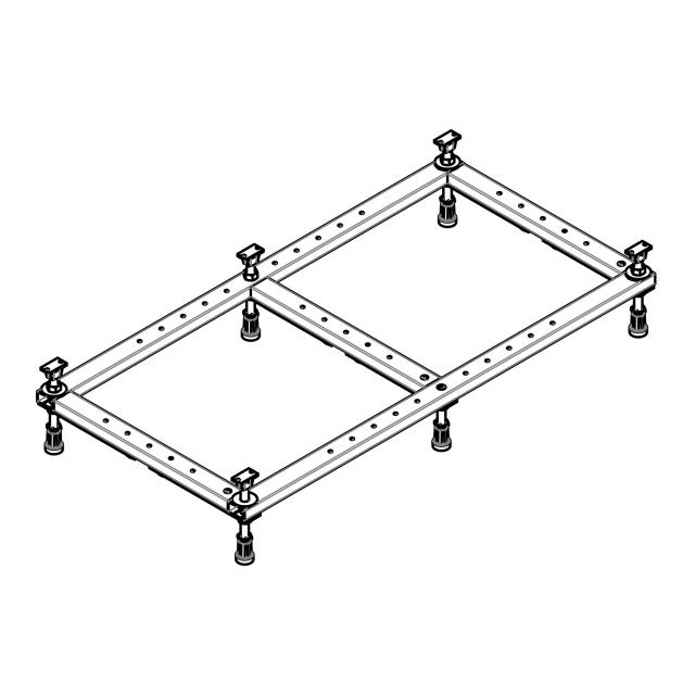 Hoesch Universal base frame for shower tray