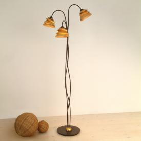Holländer Snail One floor lamp, 3 heads