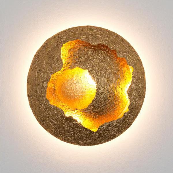 HOLLÄNDER Nido di Vespe LED ceiling light