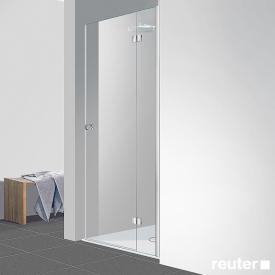 Reuter Kollektion Easy New door in recess TSG clear light / chrome look