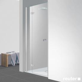 Reuter Kollektion Easy New door in recess TSG clear light PerlClean / chrome look