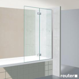 Reuter Kollektion Premium bath screen, 2 piece