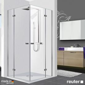 Reuter Kollektion Premium corner entry 100 x 80, door 55 cm