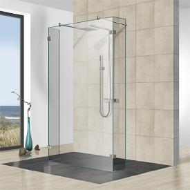 Reuter Kollektion Premium frameless 3 fixed pieces free-standing