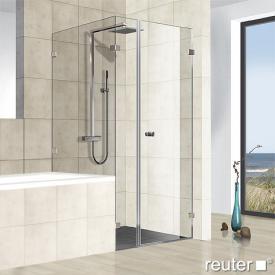 Reuter Kollektion Premium frameless door with short side panel