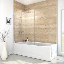 Reuter Kollektion Premium Free bath screen, 2 movable elements