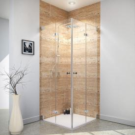 Reuter Kollektion Premium Free corner entry with 2 bi-fold doors
