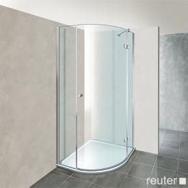 Reuter Kollektion Premium quadrant with 1 pivot door 80 x 80, radius 55 cm