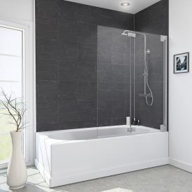 Reuter Kollektion Style bath screen, 2 movable elements