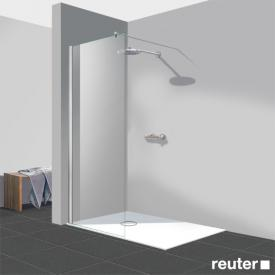 Reuter Kollektion Easy Neu Walk In straight element TSG clear light PerlClean / chrome look