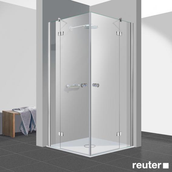 Reuter Kollektion Easy New corner entry TSG clear light / chrome look