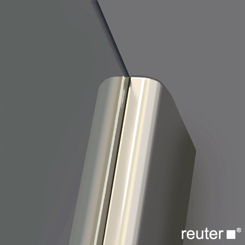 Reuter Kollektion Medium New door in recess chrome/silver high shine STIM 785-800 fixed166