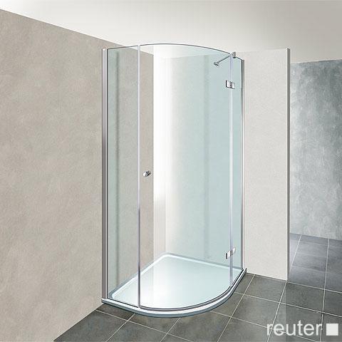Reuter Kollektion Premium quadrant with 1 pivot door 90 x 90, radius 55 cm