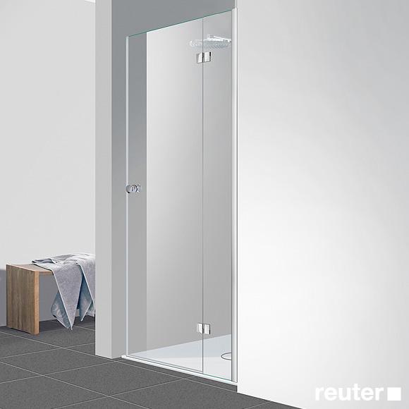 Reuter Kollektion Easy New door in recess TSG clear light PerlClean / chrome look