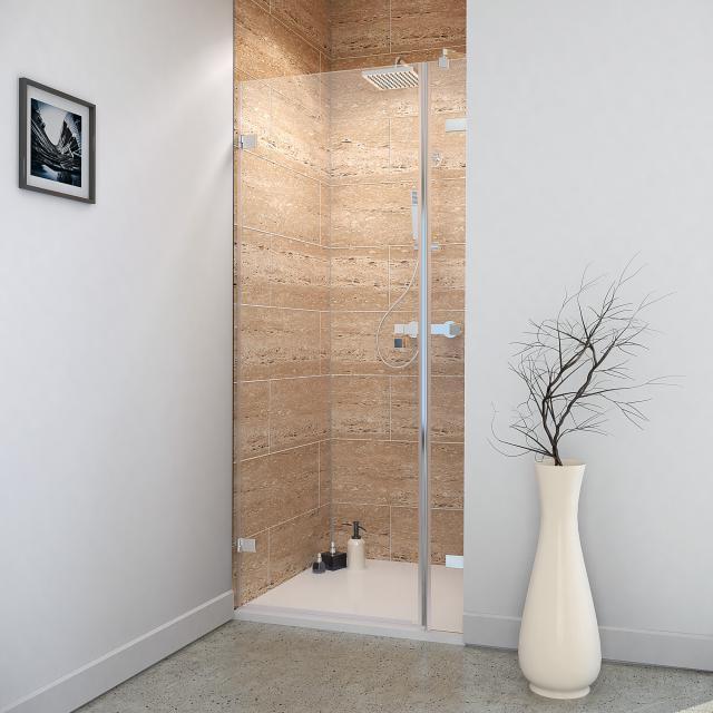 Reuter Kollektion Premium Free hinged door with side part in recess