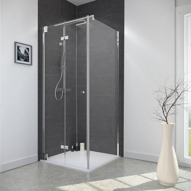 Reuter Kollektion Style bi-fold door with side panel