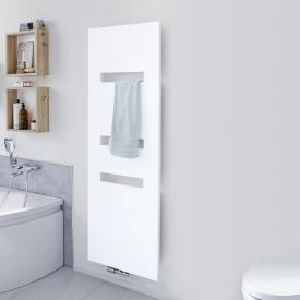 HSK Atelier Highline Radiateur de bain face métallique, blanc mat