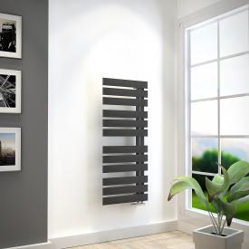 HSK Yenga bathroom radiator graphite black, 455 watt