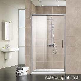 HSK Favorit sliding door TSG clear light / matt silver
