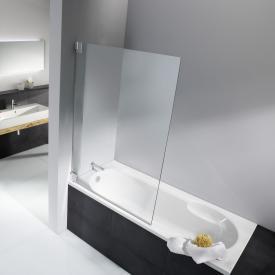 HSK K2 bath screen TSG light clear with shield coating / chrome look