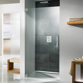 HSK K2 two-way hinged door for recess TSG light clear / chrome look