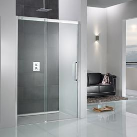 HSK K2P sliding door in recess TSG clear light / chrome