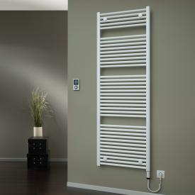 HSK Yenga bathroom radiator for purely electrical operation white, 800 W, heating rod right
