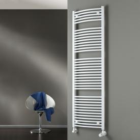 HSK Radiateur de salle de bain Line Round avec raccordement standard blanc, 758 watts