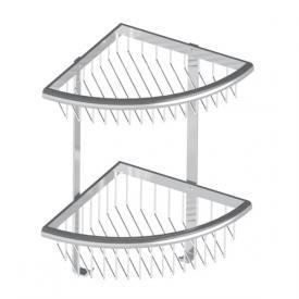 HSK Premium corner shower basket, 2 piece