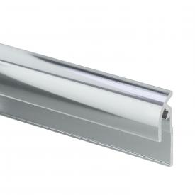 HSK RenoDeco end profile, round chrome look
