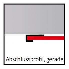HSK RenoDeco end profile, straight
