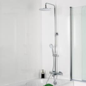 HSK RS 200 Set de douche thermostatique pour baignoire, douche de tête extra plate