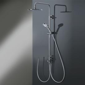HSK RS 200 shower set with flat overhead shower