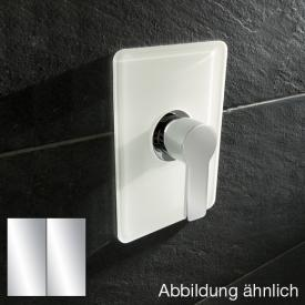 HSK Softcube concealed shower mixer, trim set chrome