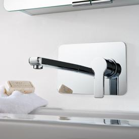 HSK Softcube concealed single lever basin mixer projection: 200 mm chrome