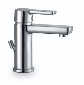 HSK Softcube single lever basin mixer with pop-up waste set