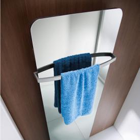 HSK Softcube towel rail W: 57 cm matt white
