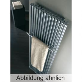 HSK TWIN radiator silver